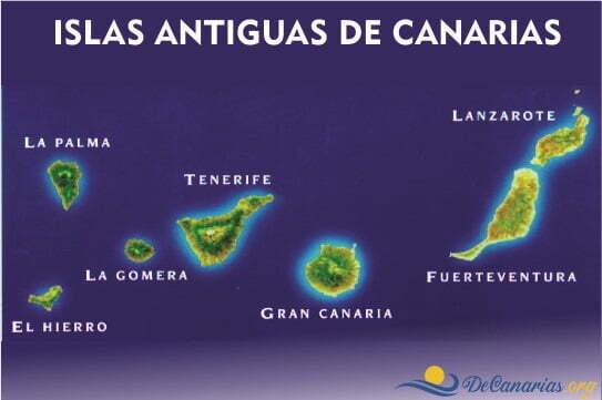 Islas antiguas de las Canarias